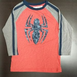Kids Long Sleeve Spider-man Shirt